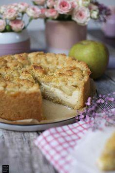 Der leckerste Apfelmus-Streusel-Kuchen - Fräulein Meer backt
