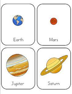 FREE printables: The Solar System - Mrs Homeec