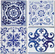 Traditional Portuguese tiles in the modern interior - Decoration Solutions Floor Patterns, Tile Patterns, Ceramic Floor Tiles, Ceramic Flooring, Cement Tiles, Mosaic Tiles, Wall Tiles, Glazed Tiles, Portuguese Tiles