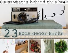 23 Decor Hacks - You need to see what's behind this book! | How Does She