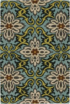 Amy AMY-13202 Rug from the Amy Butler Rugs collection at Modern Area Rugs
