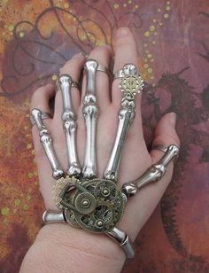 Clockwork Skeleton design by Terrible Mischief Studios