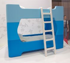 Bunky for Magis by Marc Newson - kids furniture like their toys. #design #bed #bunkbed