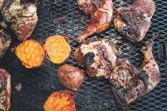 The Hummingbird has the best #jerk #chicken in #Toronto, hands down.  Just look at it!  #Food.