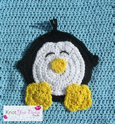 This is one of 12 appliques needed to complete Knot Your Nana's Crochet Zoo Blanket.