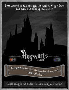 This site is absolutely amazing! I would highly recommend it for any Harry Potter fans out there!