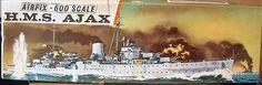 Airfix - HMS Ajax 1/600 Scale