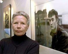 Beatles Photographer astrid kirchherr, next to famous photo of John Lennon - Google Search