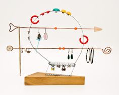 This creative but convenient jewelry stand is a part of a unique collection featuring wood by Less and More. Soon you can check out the rest of their collection at LeCrib.com!