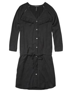 Women's | Dresses | Button Down Dress In Stone Was | Hudson's Bay