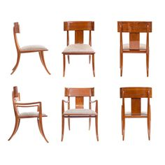 1948 Klismos Chairs By T.H.Robsjohn Gibbings | From A Unique Collection Of  Antique And Modern Dining Room Chairs At ...