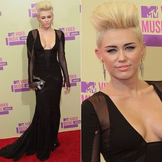 Miley Cyrus at the MTV Video Music Awards 2012