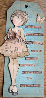 Memories & More Classes: Prima Doll Tags with Charmagne