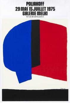 Poliakoff - Galerie Melki Paris by Poliakoff, Serge | Shop original vintage #posters online: www.internationalposter.com.