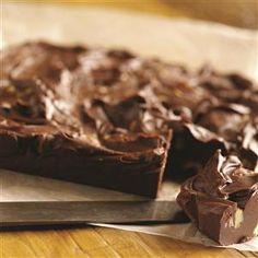 Foolproof Chocolate Fudge - looks super easy - uses sweetened condensed milk