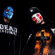 Johnny 3 Tears and J-Dog from Hollywood Undead
