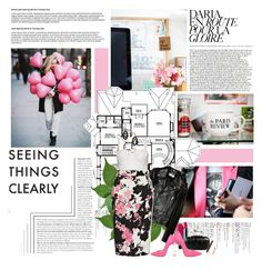 """""""seeing things clearly..."""" by missoumiss ❤ liked on Polyvore featuring Yves Saint Laurent, Alice + Olivia, French Connection, Guerlain, Boohoo, Casadei and Monique Péan"""