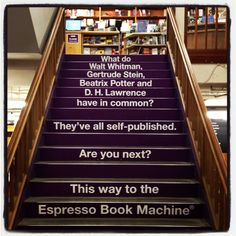 #Powell's Books for inspiration, the largest independent used and new bookstore in the world.