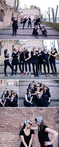 (Enterrement de vie de jeune fille à Rome) A bachelorette party in Rome – Trastevere – photographe à Rome
