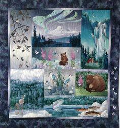 Aurora Ridge designed by McKenna Ryan. Features Enchanted Pines by McKenna Ryan.