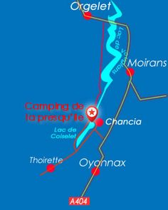 camping vouglans chancia Map, Law School, Camping France, Location Map, Maps, Peta