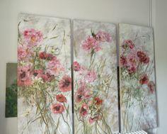 Claire Basler hisse , au contraire de la nature morte au rang de portrait vivant , ses drapés et ses fleurs qui vibrent de matière et de...