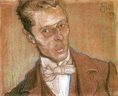 Stanisław Wyspiański,Portrait of Wincenty Parv, 1899