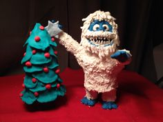 Bumble the Abominable  Snowman - #Play-Doh