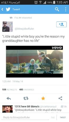 Perfect. #SoTrue <3 lmaoo <3 Luke Hemmings ft. Granny <3 5 Seconds Of Summer <3 Don't Stop Music video <3