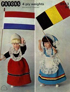 Patons 9863 Vintage Knitting Patterns for by vintagemadamedefarge