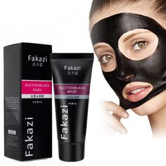 Hot Black Mud Deep Cleansing Purifying Peel Off Facail Face Mask Remove Blackhead Acne Facial Mask pigmentation correction
