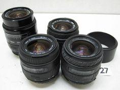 5L216FB SIGMA 28-70mm F3.5-4.5 レンズまとめて4本ジャンク_画像1