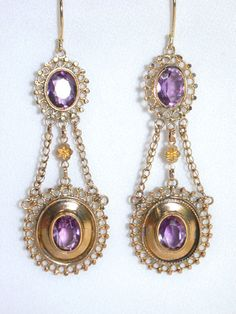Earrings 1810 The Three Graces