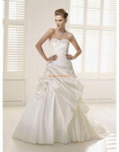 RONALD JOYCE Designe Modische Brautkleider aus Taft mit Perlenstickerei
