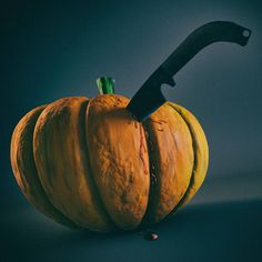 """cg 33 - Killed Pumpkin #3d #cinema4d #c4d #photoshop #everyday #render #daily #daily3d #dailyproject #cg #cgi #cgart #pixellab #halloween #pumpkin"""