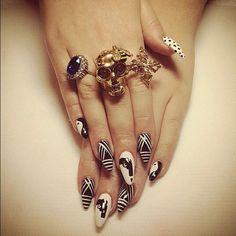 Killer nails...