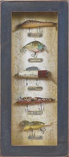 Antique Fishing Lure 3D Picture