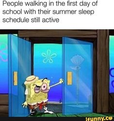 Picture memes — iFunny Aliseens Aliseens People walking in the first day of school with their summer sleep schedule … Really Funny Memes, Stupid Funny Memes, Funny Relatable Memes, Funny Cute, Haha Funny, Funny Texts, Funny Stuff, Epic Texts, Funny Gifs