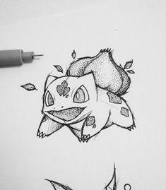 Pencil Art Drawings, Art Drawings Sketches, Easy Drawings, Pokemon Tattoo, Pokemon Sketch, Pokemon Go, Animal Sketches, Animal Drawings, Desenho Harry Styles
