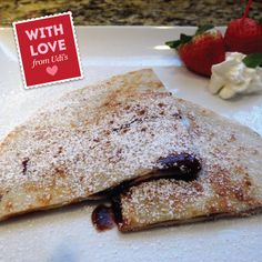 Woo her/him with a Sweet Nothings & Nutella Crepe!