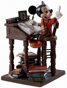 "Mickey's Christmas Carol - Mickey Mouse, Bob Cratchit - ""Earnest Employee"""