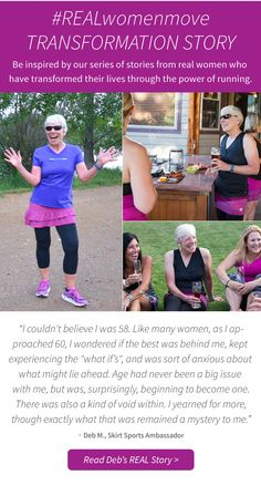 Because @skirtsports is about more than just making awesome clothes - they are also about highlighting REAL Women and how they move! Read Deb's story for some big time inspiration!! #REALwomenmove #skirtsports #converttoskirt www.skirtsports.com