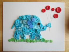 (Button) Elephant in the Room-Tutorial...easy how-to, great photos