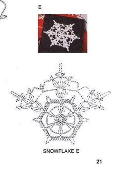 185 Crochet Diagram, Crochet Motif, Crochet Doilies, Crochet Flowers, Crochet Patterns, Crochet Snowflake Pattern, Crochet Stars, Crochet Snowflakes, Crochet Winter