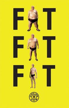 yoga quote fitness motivation Live you life for you! Fat Fat Fit - Gold's Gym by Lauren Hom, via Behance Creative Advertising, Ads Creative, Advertising Design, Gym Advertising, Advertising Campaign, Pinterest Advertising, Creative Poster Design, Funny Commercials, Funny Ads