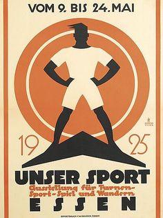 JO PIEPER (1893-1971). UNSER SPORT. 1925.