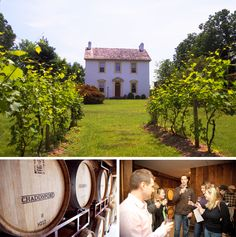 There are seven wineries along Chester County, PA's Brandywine Valley Wine Trail.