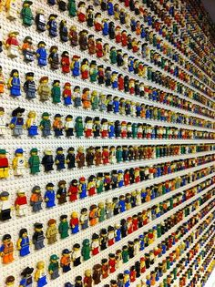 Of course everyone knows about lego toys? they love the lego, some children and even adults collected a lot of lego m. Minifigura Lego, Van Lego, Nano Cube, Lego Wall, Lego Boards, Lego Room, Lego Storage, Lego Design, Everything Is Awesome