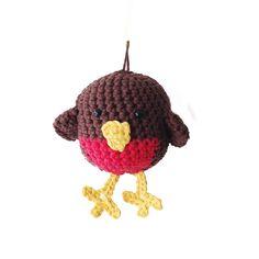 Ravelry: Crochet Robin pattern by Annemaries Haakblog