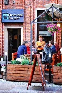Original #Burger | #gdansk #burgers #food #restaurant Original Burger, Burgers, Restaurant, The Originals, Food, Hamburgers, Diner Restaurant, Essen, Meals
